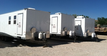 Mobile Offices with Internet Service provided by Arctic Energy Services